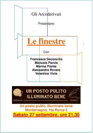 locandina Finestre